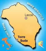 Mappa di Torre Suda