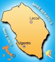 Mappa Puglia Ugento.Come Raggiungere Villaggio Robinson Club Apulia