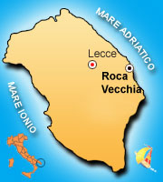 Mappa di Roca Vecchia