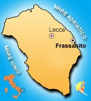 Mappa di Frassanito
