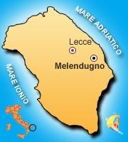 Mappa di Melendugno