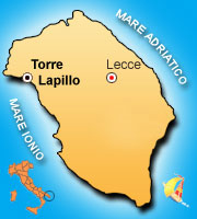 Mappa di Torre Lapillo
