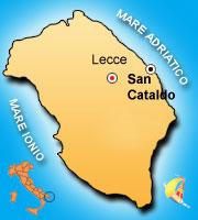 Mappa di San Cataldo