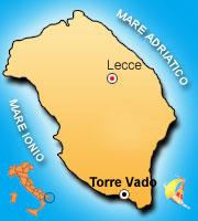 Mappa di Torre Vado