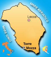 Mappa di Torre Mozza