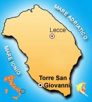 Mappa di Torre San Giovanni