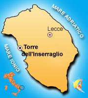 Mappa di Torre Inserraglio
