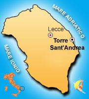 Cartina Puglia Costa Adriatica.Come Raggiungere Corte Del Salento Village