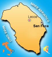 Cartina Puglia San Foca.Come Raggiungere Eurogarden Village