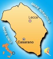 Mappa di Casarano