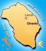 Mappa di Otranto