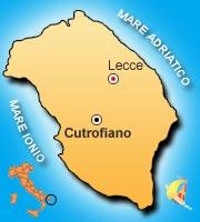 Mappa di Cutrofiano