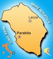 Mappa di Parabita