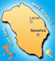Mappa di Sanarica
