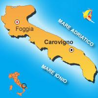 Mappa di Carovigno