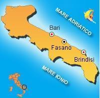 Mappa di Fasano