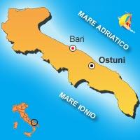Mappa di Ostuni
