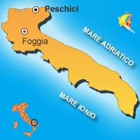 Mappa di Peschici