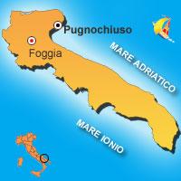 Mappa di Pugnochiuso