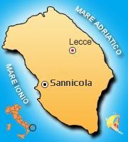 Mappa di Sannicola